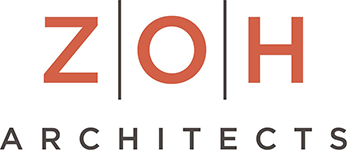 Zwirko, Ortmann & Hugo Architects P.C. – ZOH Architects Retina Logo