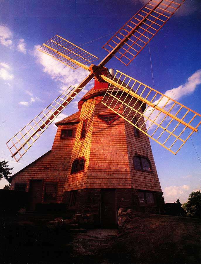 Zwirko, Ortmann & Hugo Architects - Historical Projects - Southampton College Windmill